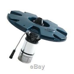 Airmax 1/2 HP Lake & Étang Aérateur Flottant Fontaine 3 Modèles Avec 100' Cord