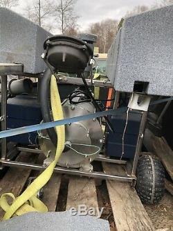 Aqua Maître 25 HP 220 V Commercial Aérateur Pompe Étang Fontaine Et Lumières Décoratives