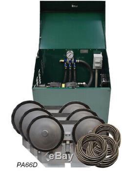 Easypro 1/2 HP À Bascule Piston Deluxe Bassin D'aération Système Pa66d Diffuseurs-tube
