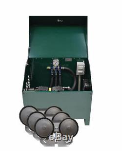 Easypro Deluxe 1/2 Bassin HP Avec Système D'aération Du Cabinet Et Diffuseurs Pa66ad