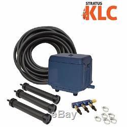 Easypro La3 Stratus Klc Complet Kit Pour Les Étangs D'aération Jusqu'à 22500 Gallons