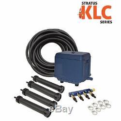 Easypro La4 Stratus Klc Complet Kit Pour Les Étangs D'aération Jusqu'à 30000 Gallons
