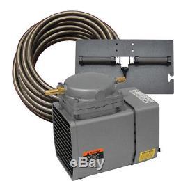 Easypro Pa12w 1/8 Bassin HP Avec Système D'aération Weighted Tubes Bassins Jusqu'à 1/4 Acre