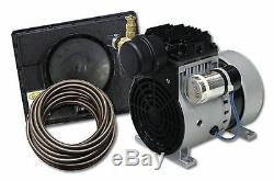 Easypro Pa34 Rocking Piston 1/4 Étang / Lac HP Kit Système-aeration Complet