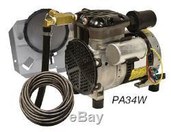 Easypro Pa34w 1/4 HP Rocking Étang À Piston Avec Quick Kit Aeration Sink Tubes