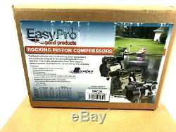 Easypro Pa34w Rocking Piston Étang Kit Tube-aeration 1/4 De Withweighted Aérateur HP