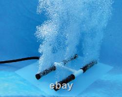 Easypro Pa8swn Diffuseur Double Shallow Étang Kit Améliore La Qualité Aeration L'eau
