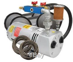 Easypro Rotary Vane Étang 1/4 Kit Système D'aération HP Avec Tuyau Et Diffuseurs Pa50