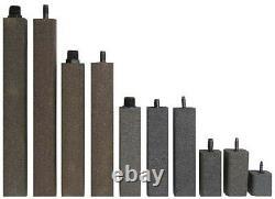 Ensemble De 2 Alumina Airstone 1 1/2 X 1 1/2 X 6 3/8 À Barbed Inlet As637