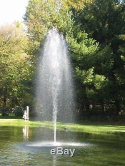 Étang Flottant Aqua Fontaine Avec Aération Nozzles Cordon D'alimentation 115v 100ft -1hp