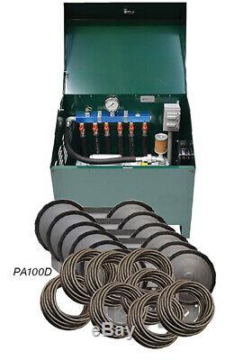 Étang Rotary Vane Deluxe Aeration 1 HP Système Complet Comprend Le Cabinet Pa100d