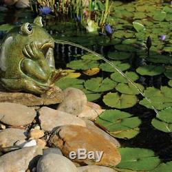 Étang Spitter Grenouille En Céramique Fontaine D'eau Convient Md11130 Md11300 Aeration Md11500
