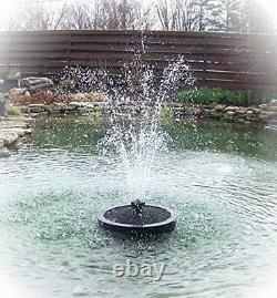 Fontaine Flottante Aérateur 5200 Gph Pompe, 100' Cord, Buse Multi-niveaux Et Plus