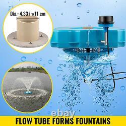 Fontaines Vevor Lake Avec Une Fontaine D'étang De 110v 1 HP Avec Cordon 100ft