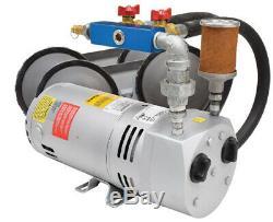 Haut Volume Rotary Vane Étang 1/4 Kit Système D'aération HP Avec Diffuseurs Pa50a