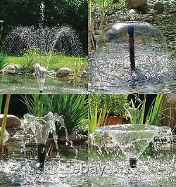 Jardins D'eau De L'atlantique Petit Étang Fontaine Kit Bubbler Aerator Koi Pond
