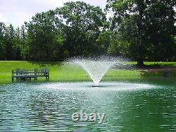 Kasco 1hp Vfx Series Aerating Pond Fountain 120v, Single, Phase, 100 Ft Powe