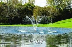 Kasco 3/4hp J Série Aerating Pond Fontaine 120v, 100 Pi Cordon De Puissance 3400