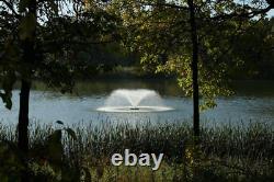 Kasco 3/4hp Vfx Série Aerating Pond Fontaine 120v, Phase Unique, 100 Ft Pow