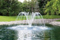 Lac Et Étang De Jardin D'eau Flottant Fontaine 3 Modèle Avec 100' Cord 1 / 2hp Aérateur
