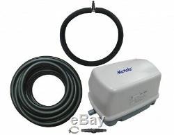 Matala Ez-air Pro 1 Kit Étang Avec Pompe D'aération, Tuyau D'air Et Diffuseur