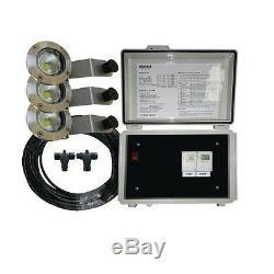 Matala Flottant Fontaine Light Kit Étang Aérateur 110v Avec 65ft. Cordon D'alimentation