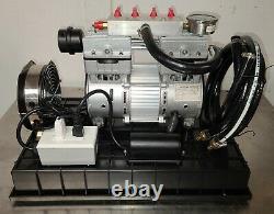 New Pond Boss Rocking Piston Air Compressor, Sub Surface Lake Aération, 1/2 HP