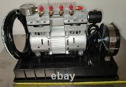 Nouveau Compresseur À Piston De Piston À Bascule Piston À Bascule, Aération Des Lacs Sous Surface, 1/3 HP