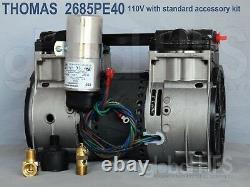 Nouveau Compresseur D'aération 110v Thomas 2685pe40 Pond Lake