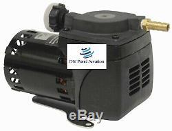 Nouveau Gast Diaphragme Compresseur 1/20 HP Dc22 Pompe Compresseur Aérateur De Bassin 1 Ampère