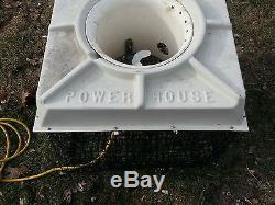 Power House F500 115v 120v Étang Fontaine Aérateur Cage Flottante Faune Poisson
