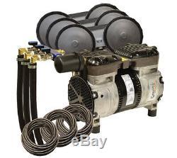 Rocking Étang À Piston 1/2 Kit Système D'aération HP Avec Diffuseurs & Poly Tubes Pa66