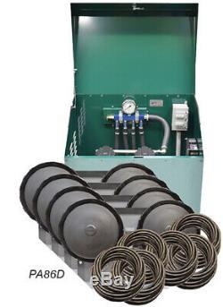 Rocking Piston 3/4 Bassin HP Avec Système D'aération Diffuseurs Tubes Cabinet Pa86d