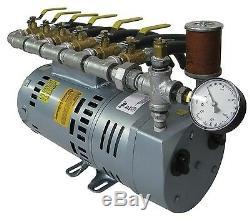 Rotary Vane Étang Système D'aération -1 HP Kit Avec Tuyau Sink Rapide (no Diffuseurs) P