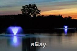Scott Aérateur 4 Light Set Changeant De Couleur Led Etang Fontaine Lumières Avec 100ft. À