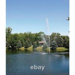 Scott Aérateur Clover Big Shot Fountain 1.5hp 230v 100ft Cordon D'alimentation