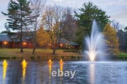 Scott Aerator Amherst Fontaine Décorative 3hp 230 Volt Cordon De 100 Pieds (pas De Lumière)