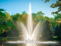 Scott Aerator Atriarch Fountain 1-1/2hp