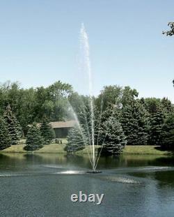 Scott Aerator Clover Fountain 1/2 Hp, 230v, 70' Cord
