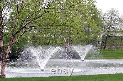 Scott Aerator Da-20 1/2hp 70' Cord Aerating Water Fountain Display Aerator