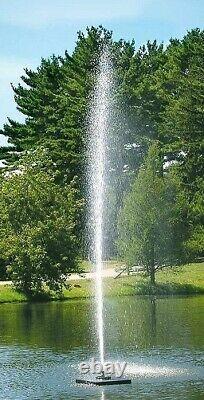 Scott Aerator Gusher Fountains Disponible En 1/2hp À 1-1/2hp Tailles