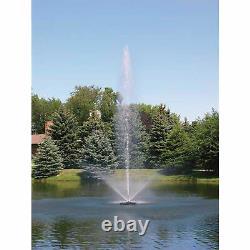 Scott Aerator Skyward Big Shot Fountain-1 1/2 HP 230v 100-ft Power Cord #13007