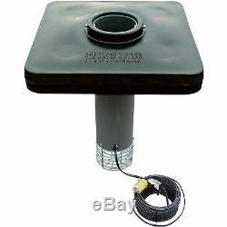 Scott Affichage Étang Aérateur Fontaine 1/2 HP 230 V, 70 Pieds. Cordon D'alimentation, Modèle # Da-20