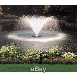 Scott Affichage Extérieur Étang De Jardin Aérateur Fontaine 1/2 HP Frais Et Eau Salée