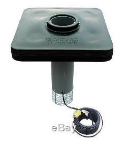 Scott Display 2 HP Aérateur Étang 230v / 100ft Cord, Da-20 / Plus 2 Ultraclear Jars