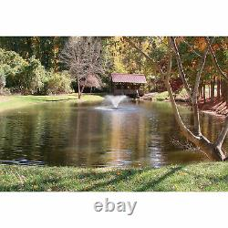 Scott Display Outdoor Pond Garden Aerator Fountain 1/2 HP Eau Fraîche Et Salée