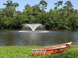 Série 34hp Vfx Aerating Pond Fontaine 120v Single Phase 100 Ft Cord D'alimentation
