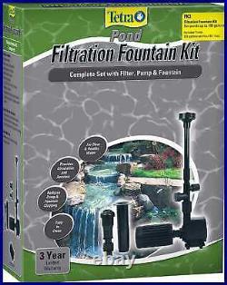 Tetrapond Fk3 Filtration Fountain Kits Under 100 Gallons Livraison Gratuite